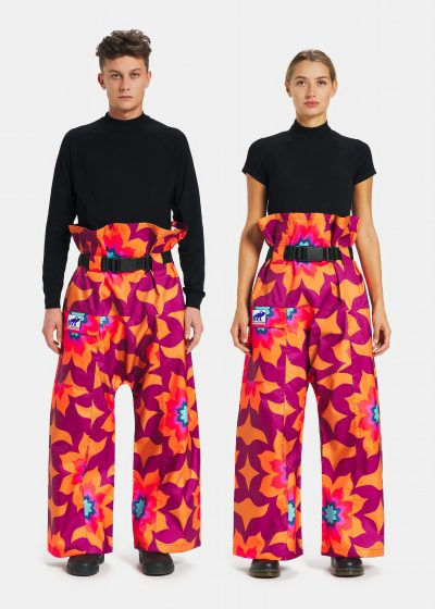 Pantaloni antipioggia Flower Power